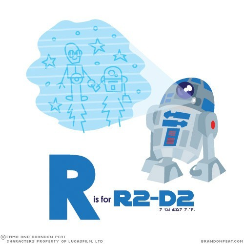 fanofstarwars:  R is for R2-D2