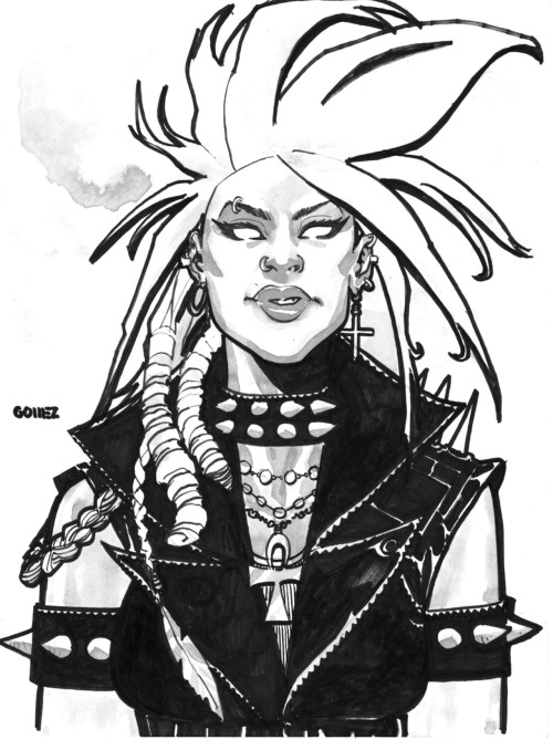 thehappysorceress:  Punk Rock Storm by Joel Gomez