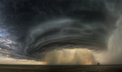 n-a-s-a:  A Supercell Thunderstorm Cloud Over Montana  Credit & Copyright: Sean R. Heavey