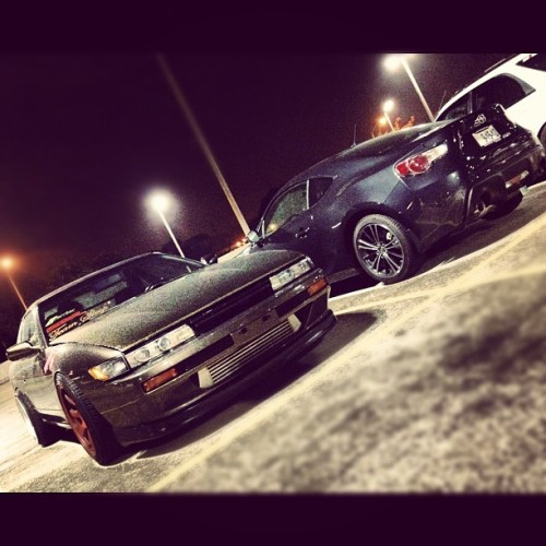 #frs X #silvia #scionfrs #scion #toyota #gt86 #garagefrs #nissan #240sx #s13 #jdm #teamsleep808 #hawaii (Taken with Instagram at Target)