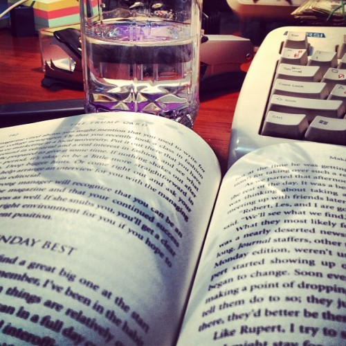 That's what I call a perfect afternoon! #books #trump #lifestyle  (Taken with Instagram)