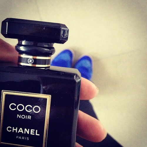 Perfume of the day <3 #chanel #coconoir #sneakpeek (Taken with Instagram)