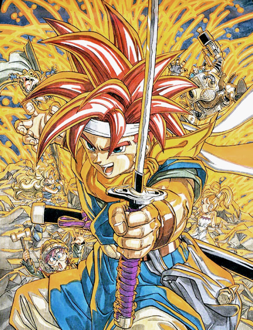 gameandgraphics:  Chrono Trigger original artwork (Super Famicom, 1995). [source]
