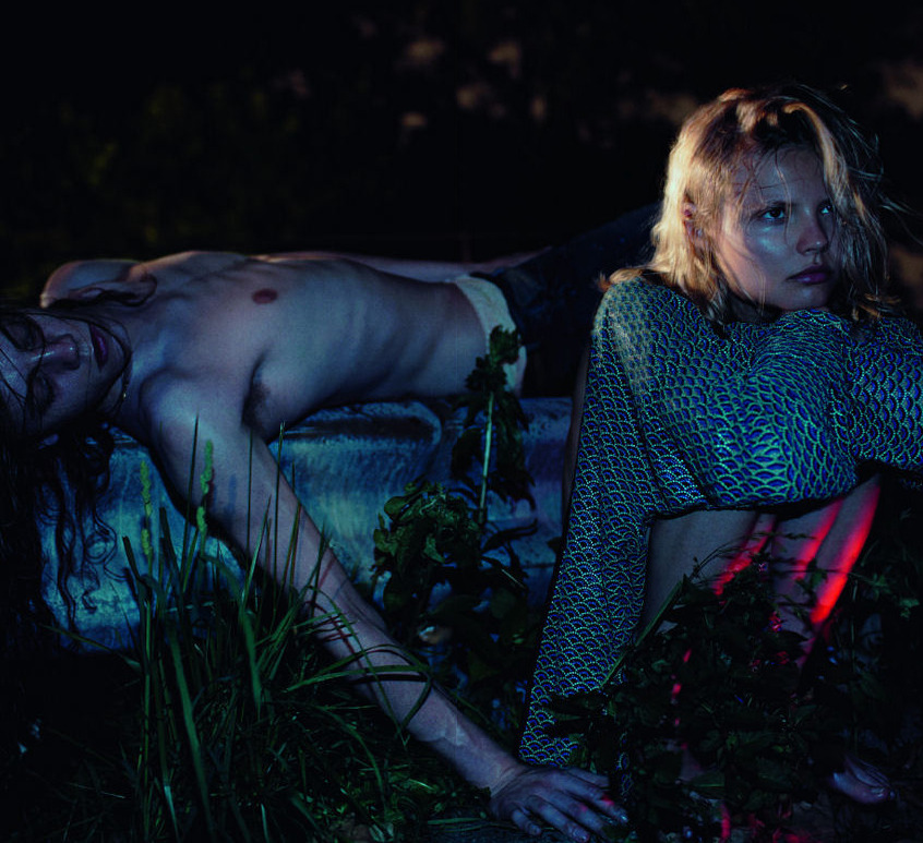 Magdalena Frackowiak, Doutzen Kroes, Miles McMillan, Duncan Pyke for LOVE #8 Fall/Winter 2012 by Mikael Jansson