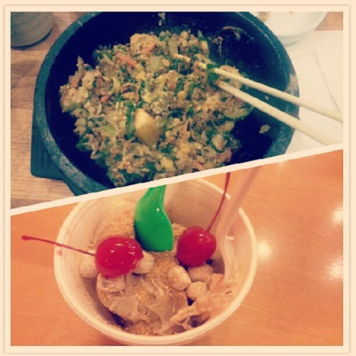 Tofu House/Yogurt World (Taken with Instagram)