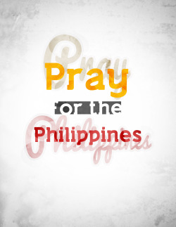 Stay safe everyone. Feel better Philippines.