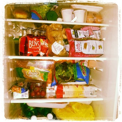 Struggle for survival #food #fresh #perfect #salad #yogurt #drinks #milk #eggs #ham #picoftheday (Scattata con Instagram)