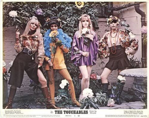 The Touchables, 1960s film poster