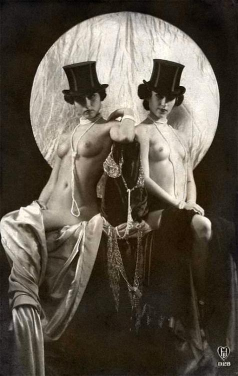 sydneyflapper:  wasabasscoburlesque:  Berlin Cabaret  Beautifully staged…I'd love to know if this is a genuine vintage piece or a pastiche. There are just a couple of elements that make me thinks it's a very well done more contemporary image - would love to know for certain.  It's contemporary - part of the ad campaign for Held Vodka.
