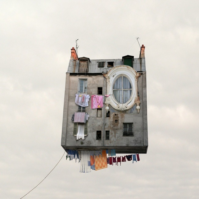 """Flying Houses"", Laurent Chehere: HOUSE 2"