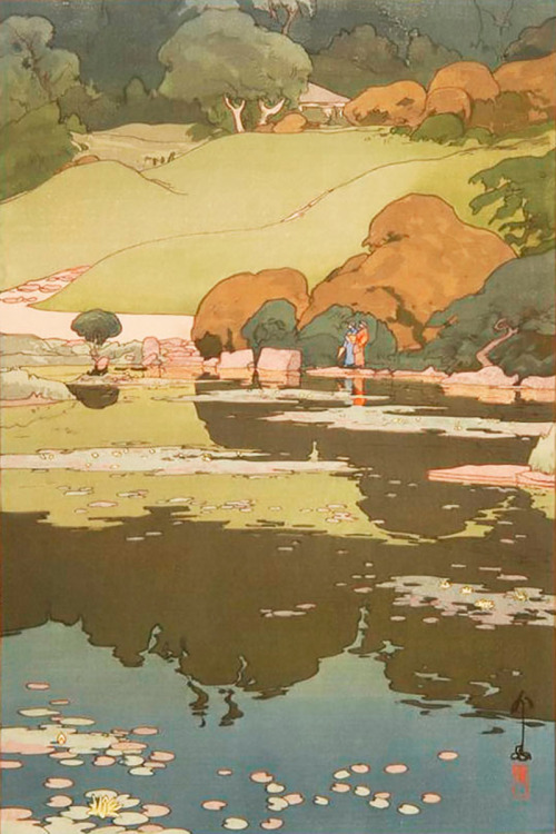 smoteymote:  theartofanimation:  Hiroshi Yoshida  Hiroshi Yoshida is one of my biggest inspirations in printmaking, hands down.  His elegant lines and captivating use of colors are incredible and almost unbelievable.