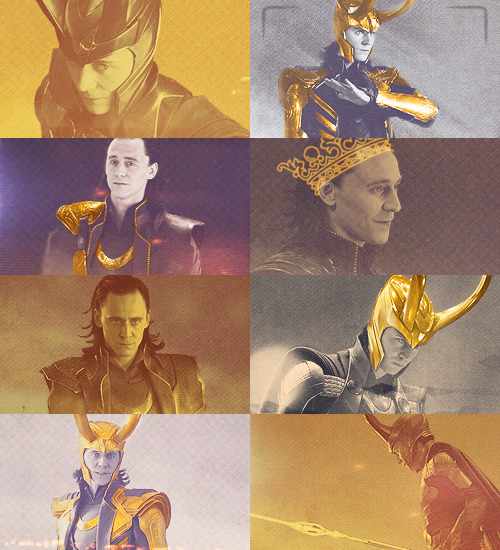 Loki + Goldrequested by mrweasleys