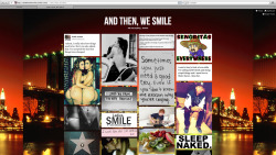 Follow our own tumblr's and you get a cookie ^^ http://andthenwesmile.tumblr.com - http://andthenwesmile.tumblr.com http://andthenwesmile.tumblr.com - http://andthenwesmile.tumblr.com