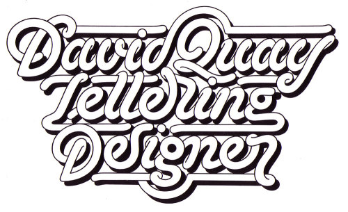 typeverything:  Typeverything.com David Quay Lettering designer by David Quay.