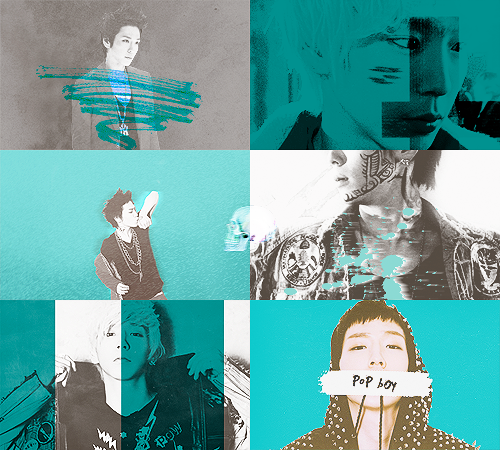 color meme: himchan in turquoise