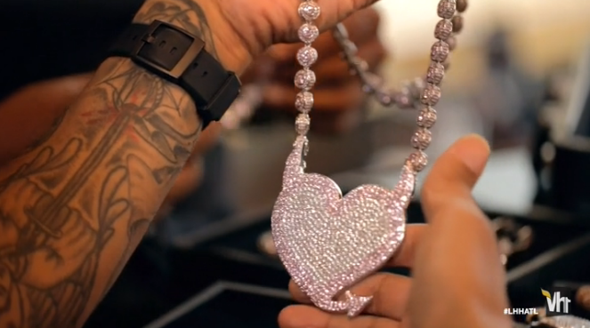 Imagine someone bought you a diamond-encrusted Bad Girls Club logo?