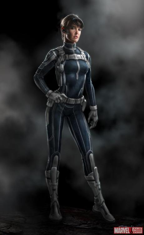 Concept art of Maria Hill by Andy Park