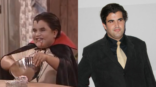 "Jason ""Gummy Bear"" Davis as Vampire Kid on 'Roseanne' via ""Where Are They Now: The Stars of Roseanne"" [Buzzfeed]"