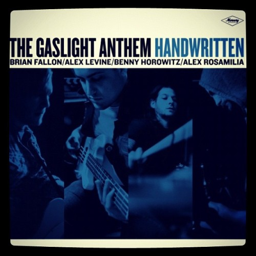 I've been listening to new @gaslightanthem for last 2 days. Rock is refreshing! (Taken with Instagram)