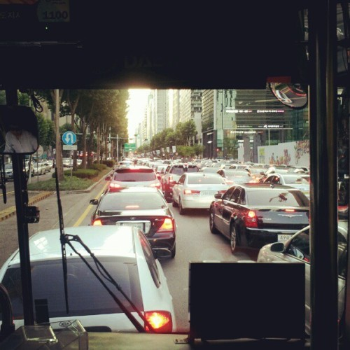 Gangnam style traffic… (Taken with Instagram)