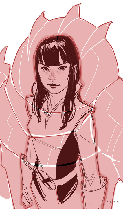 Armor by Phil Noto Submitted by fyeahlilbitoeverything