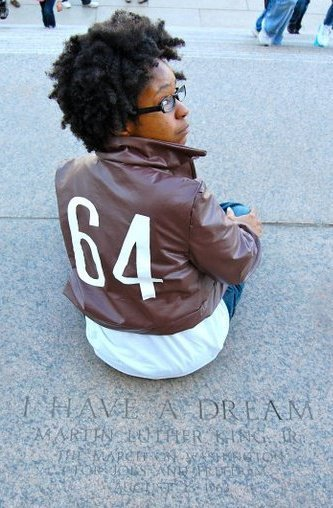 cosplayingwhileblack:  X Character: Black America Series: Axis Power Hetalia