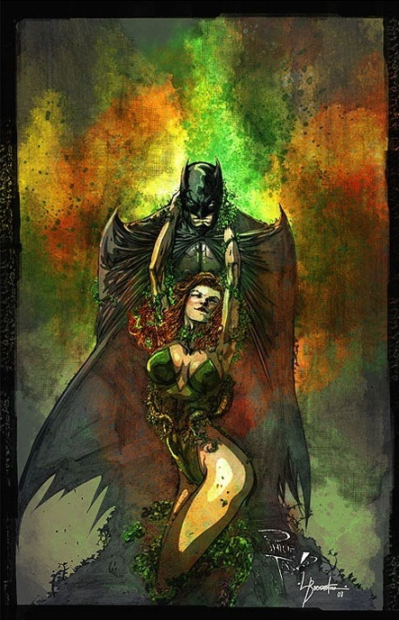 Batman & Poison Ivy by Philip Tan My links (follow me): BATMAN / DC COMICS  . French speakers and DC Lovers, go to : www.dcplanet.fr