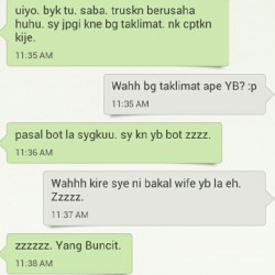 Ade org wat lawak time keje. YB @amriakib :p (Taken with Instagram)