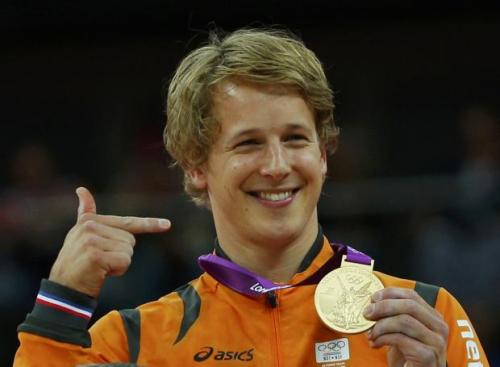 Gold medalist (and AMAZING) Epke Zonderland. You are so cute.