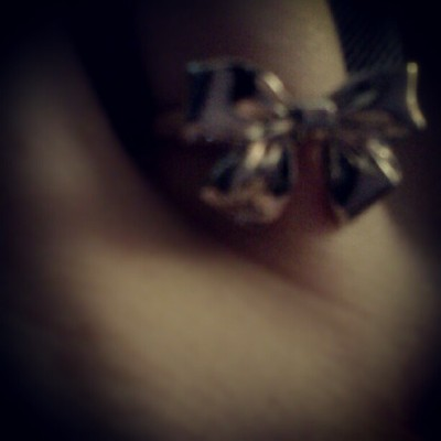 I love #bows! (Taken with Instagram)