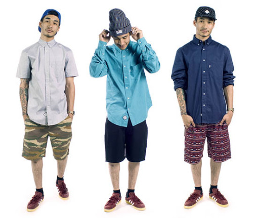 Durkl - Summer 2012 Collection Easily one of my favourite brands right now. Durkl is a Washington DC brand and it's hard to find them over here in the UK but a few of the finest pieces from their new Summer 2012 Collection has snuck over. They include the 'Memory' camper 5-panel hats and some of their logo tees and crew necks.