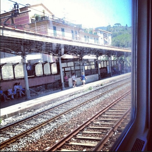 byebye #liguria #travel #train #instalove #igersmilano  (Scattata con Instagram)