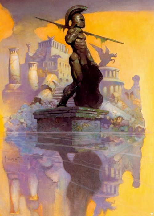 Atlantis by Frank Frazetta