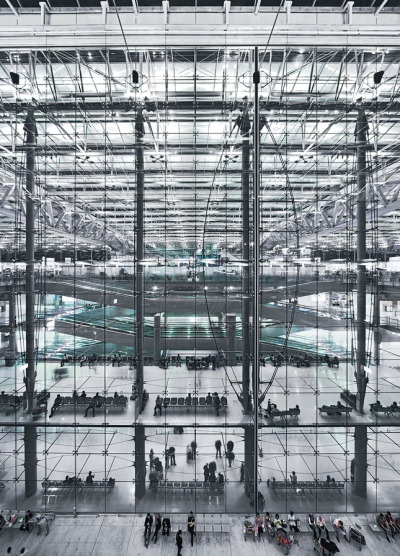 Suvarnabhumi International Airport in Bangkok Murphy/Jahn Architects WERNER SOBEK Engineering & Design