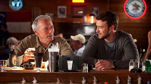 Clint Eastwood stars in first trailer for Trouble With The Curve: watch now  It seemed as though he had all but retired after Gran Torino back in 2008, but Clint Eastwood is back on the big screen once more in baseball drama Trouble With The Curve, the first trailer for which has just arrived online…