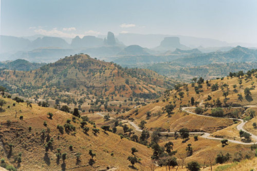 (via Condé Nast Traveller's travel photo story Rock of Ages, Photo 1 of 9 (Condé Nast Traveller)) Simien Mountains National Park, Ethiopia