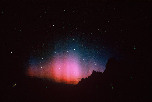 almostlikeadream:  ECHO MOUNTAIN AURORA Hollywood Drum Scan…… by chrisgrohusko on Flickr.