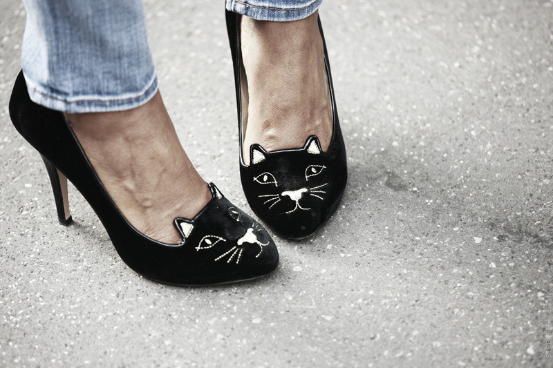 A new kind of kitten heel.