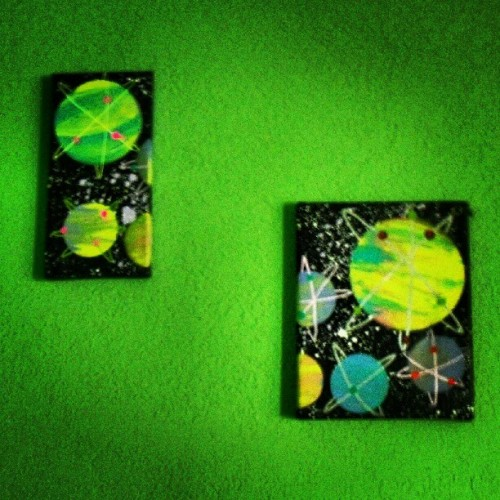 """2piece"" canvas 50$ #canvas #art #painting #forsale   (Taken with Instagram)"
