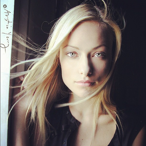 Olivia Wilde portrait by Austin Young for Interview Magazine