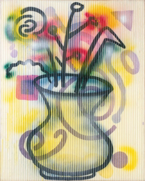 contemporaryartdaily:  Sigmar Polke at Michael Werner