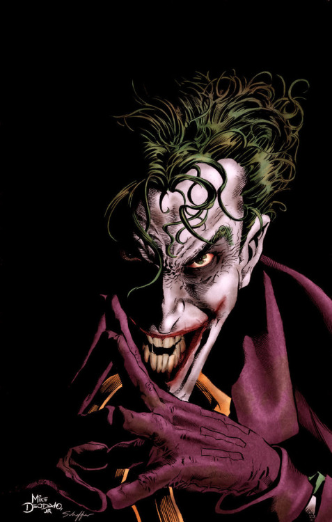 The Joker by Mike Deodato Jr. Want more in-depth Temporal Flux? Checkout the original blog