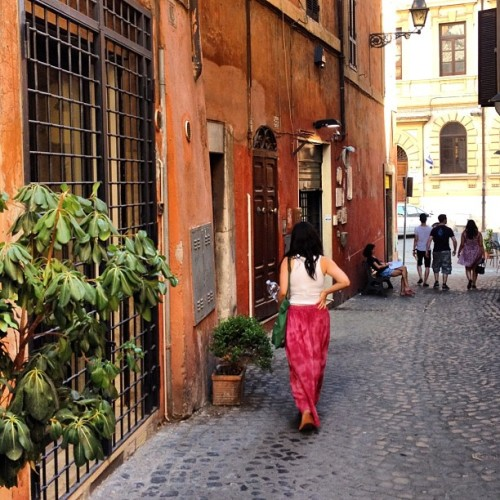 American girl in Rome. #fb  (Taken with Instagram)
