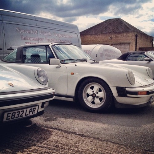 Spent morning at @SVP_Porsche #porsche #911  (Taken with Instagram)