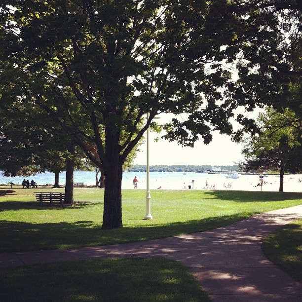 #michigan is showing off today.  (Taken with Instagram)