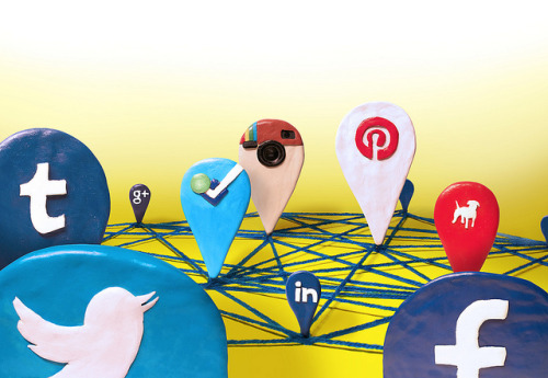 "The Social Media Road Map on Flickr.Editorial illustration for Fast Company, accompanying a feature about ""social media."" Published in the September 2012 issue. —- Illustration by David Schwen Follow: Twitter / Facebook / Tumblr / Behance"