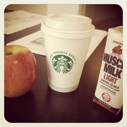 Breakfast of champions (Taken with Instagram)