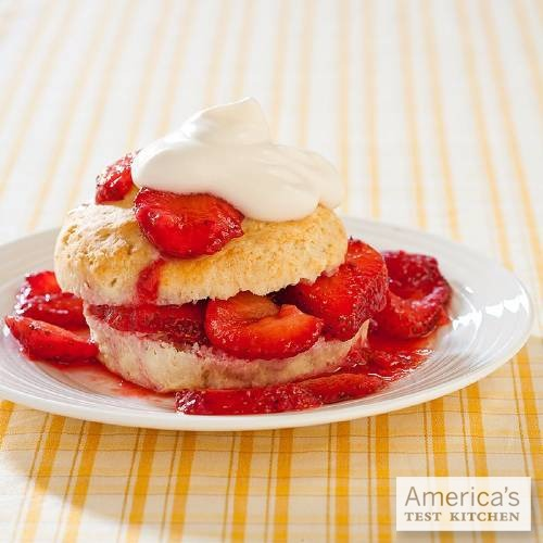 americastestkitchen:  Strawberry Shortcakes Get the recipe.
