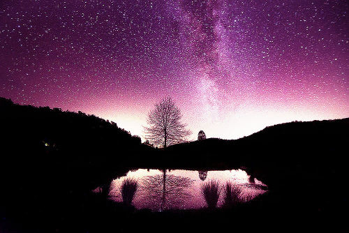 Galactic Reflections (by Andrew Cooney Photography) ~edit via ~Lori