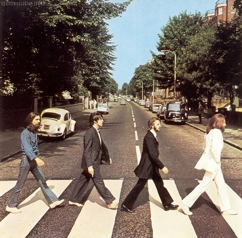 43 years from today the Beatles made their most amazing cover photo  Went here! AHHHHHHH